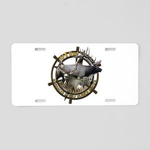 Hunting dad Aluminum License Plate