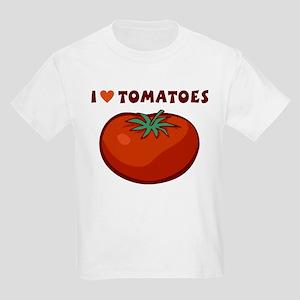 I Love Tomatoes Kids Light T-Shirt