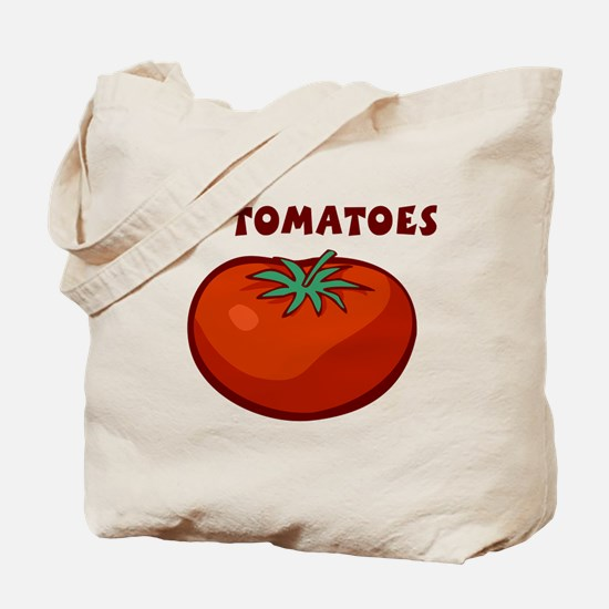 I Love Tomatoes Tote Bag