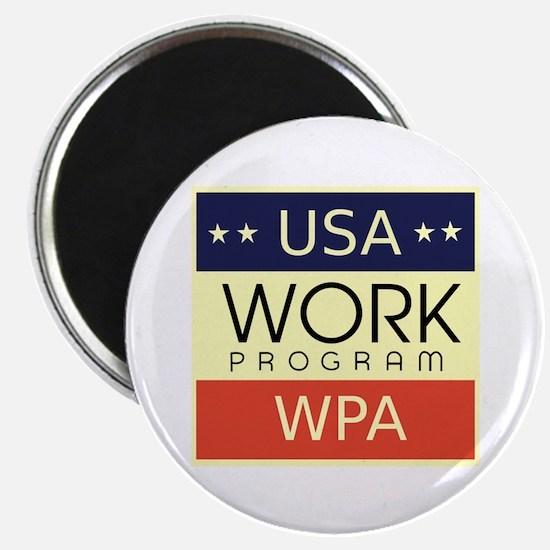 WPA Logo Magnet