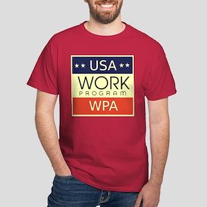 WPA Logo Dark T-Shirt