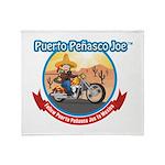 Mexico Biker Throw Blanket