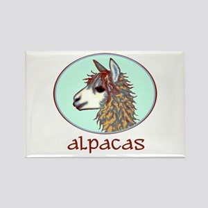 alpaca annie's Rectangle Magnet