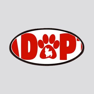 Cute Pets Paw Cat Dog Adopt Red Patch