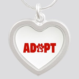 Cute Pets Paw Cat Dog Adopt Red Necklaces