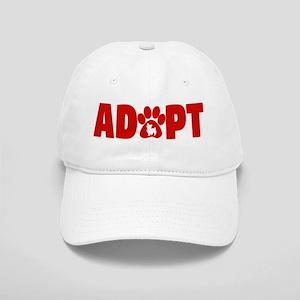 Cute Pets Paw Cat Dog Adopt Red Cap