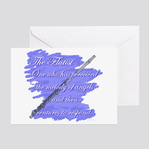 Flutist Verse Greeting Cards (Pk of 10)