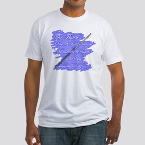 Flutist Verse Fitted T-Shirt