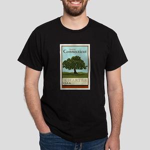 Travel Connecticut Dark T-Shirt