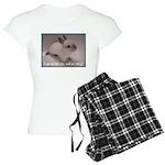 Bunny Coat Women's Light Pajamas