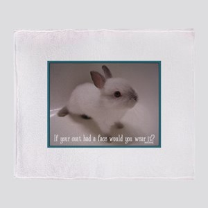 Bunny Coat Throw Blanket