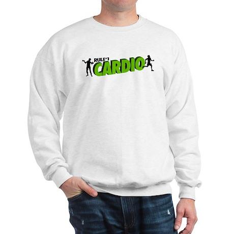 Zombie Rule #1 CARDIO! Sweatshirt
