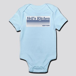 Hell's Kitchen New York Infant Creeper