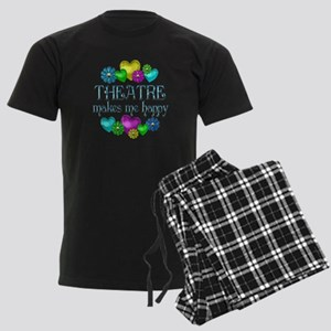 Theatre Happiness Men's Dark Pajamas