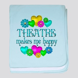 Theatre Happiness baby blanket