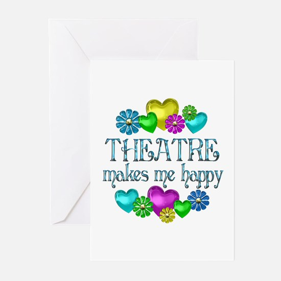 Theatre Happiness Greeting Cards (Pk of 10)