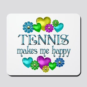 Tennis Happiness Mousepad