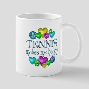 Tennis Happiness Mug