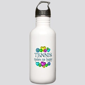 Tennis Happiness Stainless Water Bottle 1.0L