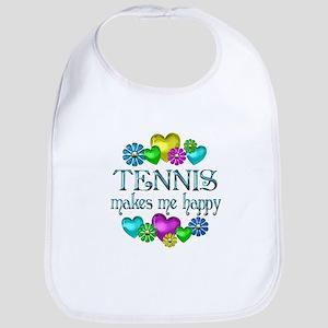 Tennis Happiness Bib