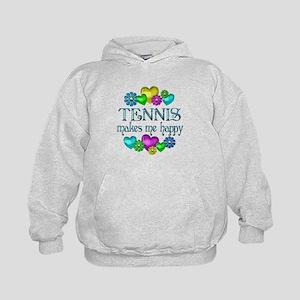 Tennis Happiness Kids Hoodie