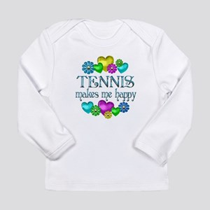 Tennis Happiness Long Sleeve Infant T-Shirt