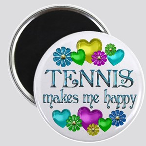 Tennis Happiness Magnet