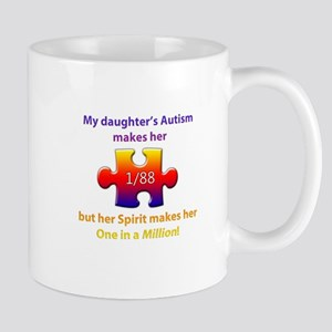 1 in Million (Daughter w Autism) Mug