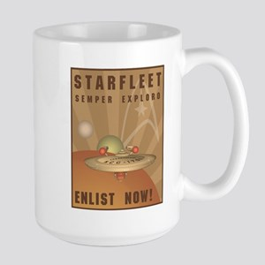 Enlist Now Large Mug