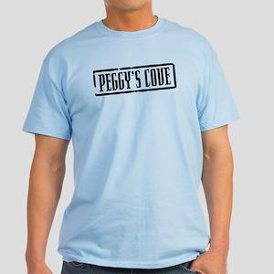 Peggy's Cove Title Light T-Shirt