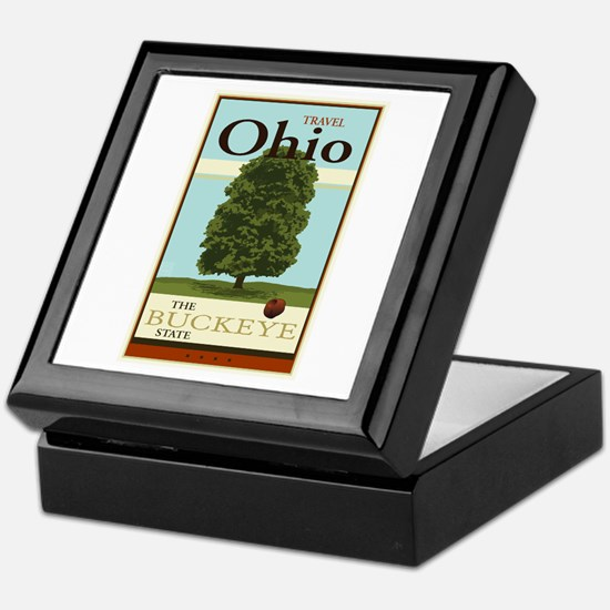 Travel Ohio Keepsake Box
