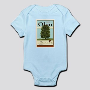 Travel Ohio Infant Bodysuit