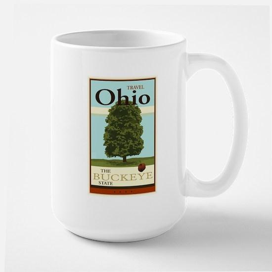Travel Ohio Large Mug