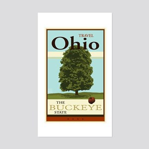 Travel Ohio Sticker (Rectangle)
