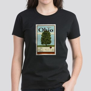 Travel Ohio Women's Dark T-Shirt