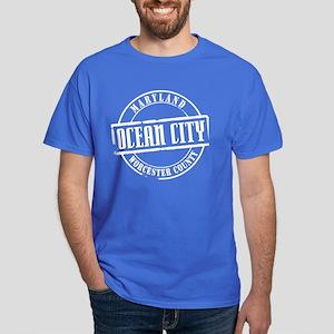 Ocean City Title Dark T-Shirt