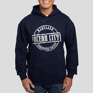 Ocean City Title Hoodie (dark)