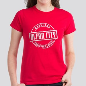 Ocean City Title Women's Dark T-Shirt