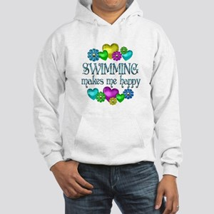 Swimming Happiness Hooded Sweatshirt