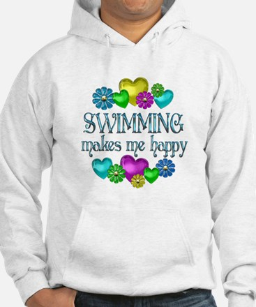 Swimming Happiness Jumper Hoody