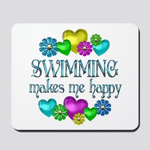 Swimming Happiness Mousepad