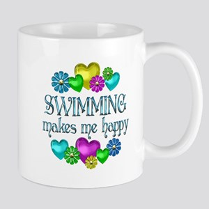 Swimming Happiness Mug