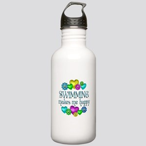 Swimming Happiness Stainless Water Bottle 1.0L
