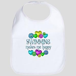 Swimming Happiness Bib