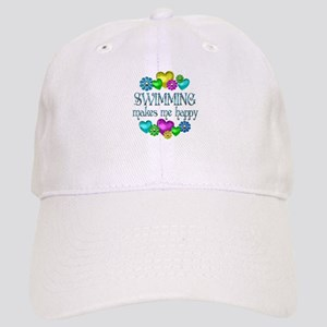 Swimming Happiness Cap