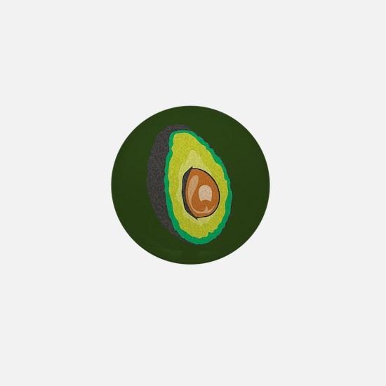 Avocado Mini Button