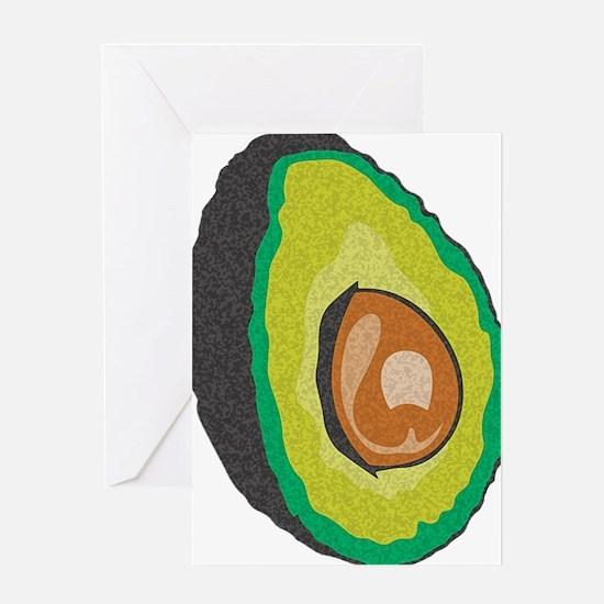 Avocado Greeting Card