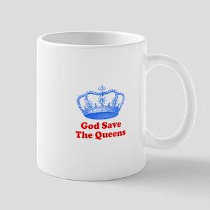 god save the queens (royal bl Mug