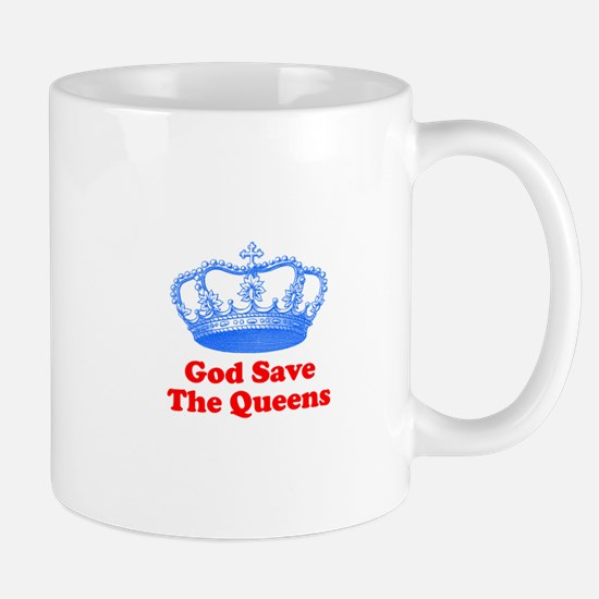 god save the queens (royal bl Mug