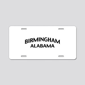 Birmingham Alabama Aluminum License Plate